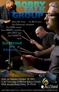 Bobby Falk Group at JazzStand on Abrams